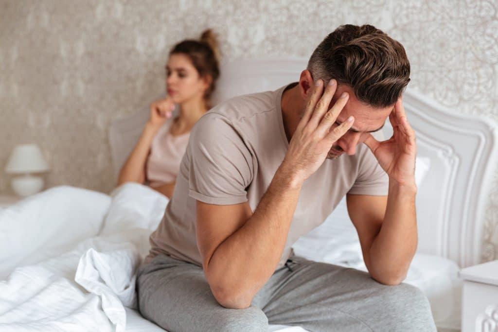 uomo triste a letto - psermiogramma